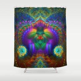 Mystical Envelopment Shower Curtain