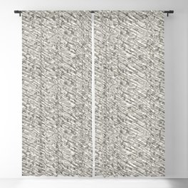 Gray Winter Army Camouflage Blackout Curtain