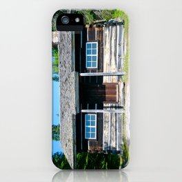 Michigan Cabin iPhone Case