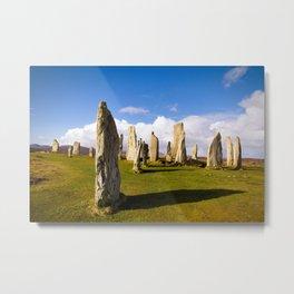 Standing Stones of Callanish Metal Print