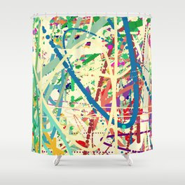 An Homage to an Enduring Artist Shower Curtain