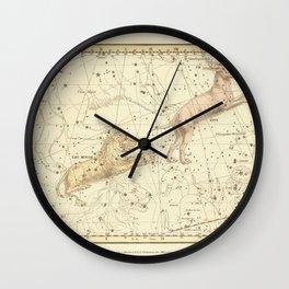 Vintage Map Print - 1822 - Alexander Jamieson - Lynx & Leo Minor Wall Clock