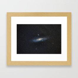 Andromeda galaxy Framed Art Print