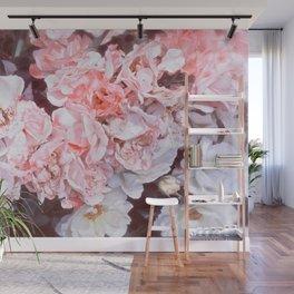 Romantic Floribunda Wall Mural