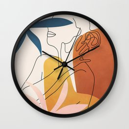 Minimal Movement I Wall Clock