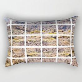 Death Valley view 01 Rectangular Pillow