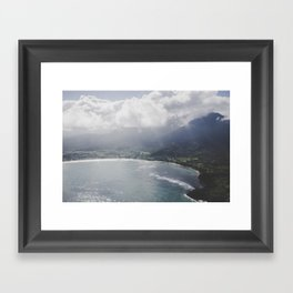 Hanalei Bay - Kauai, Hawaii Framed Art Print