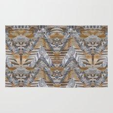 Wood Quilt 2 Rug