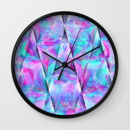 Ripping geometrics..... Wall Clock