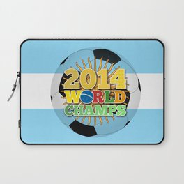 2014 World Champs Ball - Argentina Laptop Sleeve