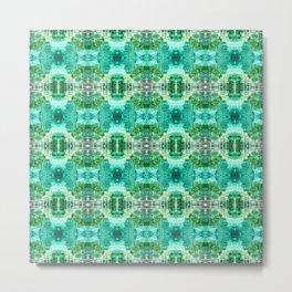 Pattern 49 - Water reflections Metal Print