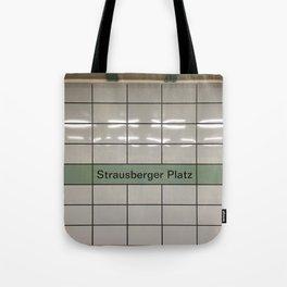 Strausberger Platz - Berlin Tote Bag