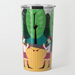 Sing along with the Scottish Bagpipes Travel Mug