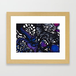 Twisted Energy Framed Art Print