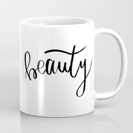 Beauty | Handlettering Coffee Mug