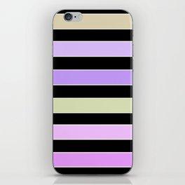 Horizontal strip  4 iPhone Skin