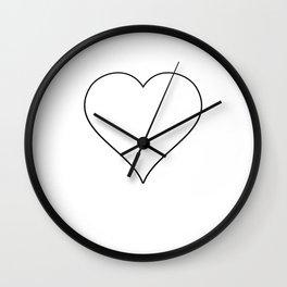 Penguin Funny Sweet Lover Ice Cream Wall Clock