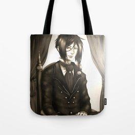 Sebastian Michaelis - The Watchdog's Butler Tote Bag