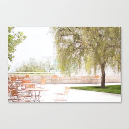 Getty Museum - A View Canvas Print