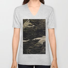 Mermaid illustration from The Craftsman - 1906-1907 Unisex V-Neck
