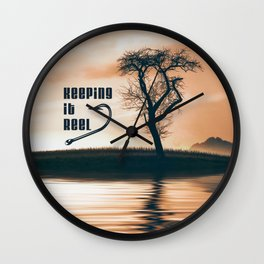 Keeping it Reel Wall Clock