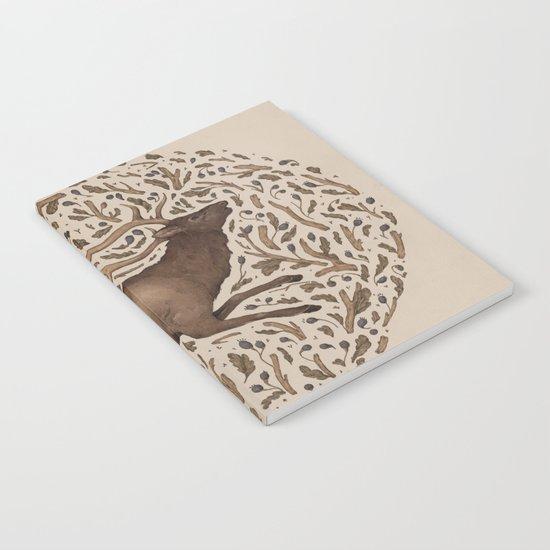 Elk in Nature Notebook