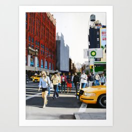 SoHo, New York City Art Print