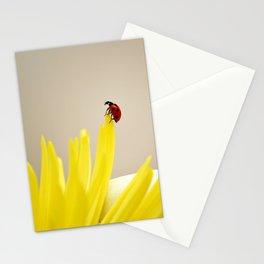 red ladybug Stationery Cards