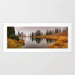 Colorado Fall Colors Panorama Art Print