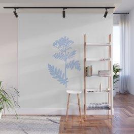 figure blueflower Wall Mural