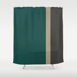 Bold Forest And Grey Shower Curtain