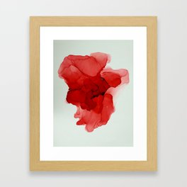 The Heart My Beat Skipped Framed Art Print