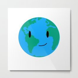 Cutie Pie Earth Metal Print