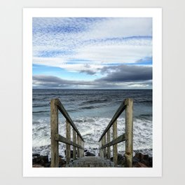 A Way to the Sea Art Print