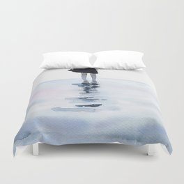 all around the sea Duvet Cover