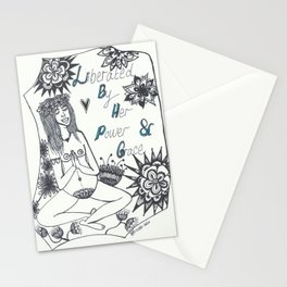 liberated birth Stationery Cards