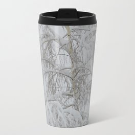 Snowy Tree 2 Travel Mug