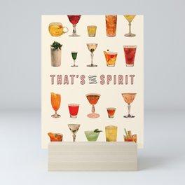 That's the Spirit Mini Art Print