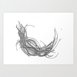 Cables XXXVIII Art Print