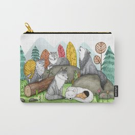 Raised by Wolves Carry-All Pouch