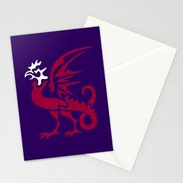 Myths & monsters: basilisk Stationery Cards
