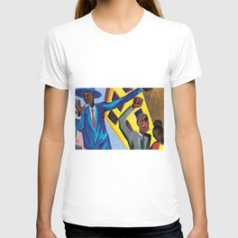 African American Masterpiece 'I am a man' by Jacob Lawrence T-shirt
