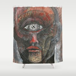 Polyphemus the Cyclops Shower Curtain