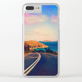 Hang It Up Clear iPhone Case