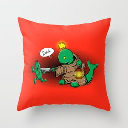 Don't Doink With Me Throw Pillow