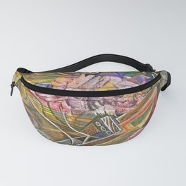 Rocky Abstract Fanny Pack