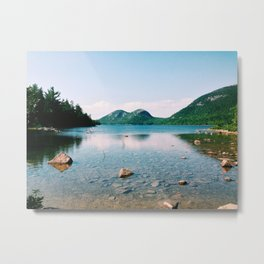 Jordan Pond - Acadia National Park Metal Print