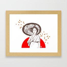 Farewell My Concubine Framed Art Print