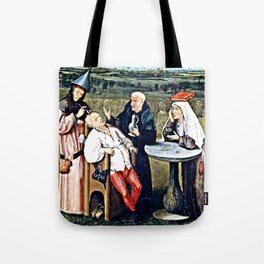 Trepanning  - The Stone Cutting, Extraction of the Stone Folly, The Extraction of the Stone Madness Tote Bag