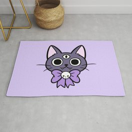 Three Eyed Kitty Rug